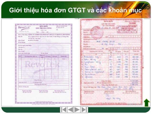 Hóa đơn dịch vụ của trung tâm viettel hcm cung cấp 9